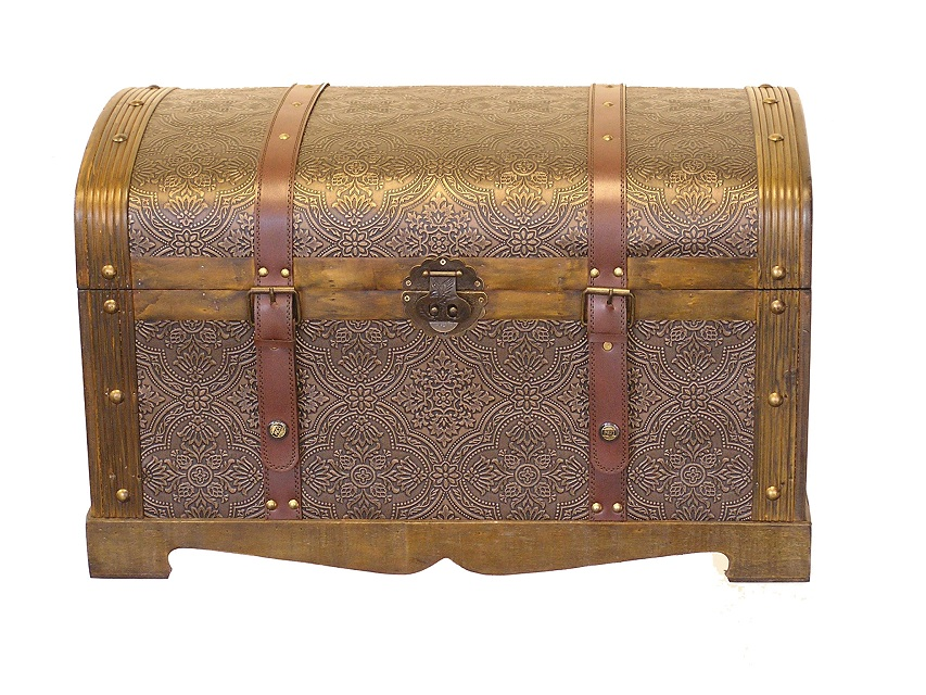 Rounded Top Victorian Trunk